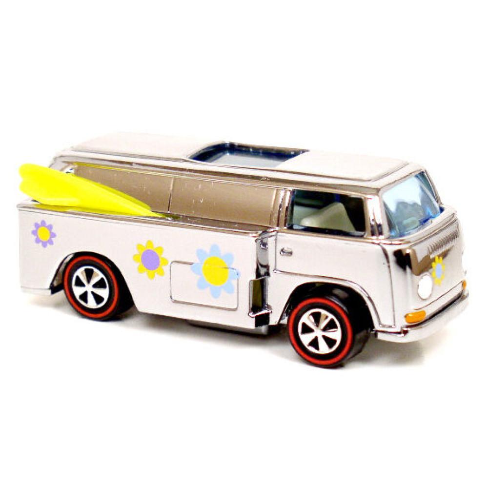Машинка Hot Wheels The Volkswagen Beach Bomb Too, серия Super Chromes