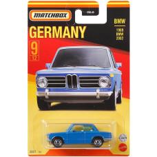 Машинка Matchbox 1969 BMW 2002 (2021 Stars of Germany)