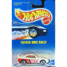 Машинка Hot Wheels Toyota MR2 Rally (1996 Blue Card)