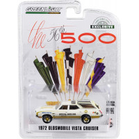 Машинка Greenlight 1972 Oldsmobile Vista Cruiser 56th Indy 500 Pace Car (2019 - Hobby Exclusive)