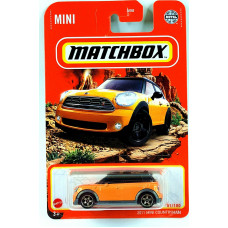 Машинка Matchbox 2011 MINI Cooper Countryman (2021 Базовая серия MBX Off-Road)