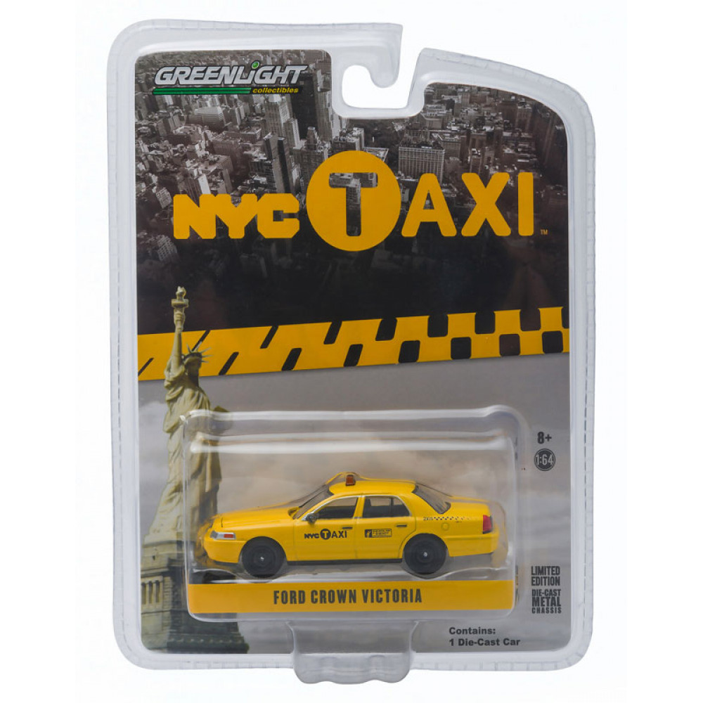 Машинка reenlight NYC Taxi - 2011 Ford Crown Victoria